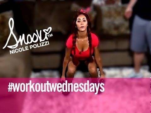 Total Lower Body Workout Wednesday w/ Snooki Home Edition - YouTube