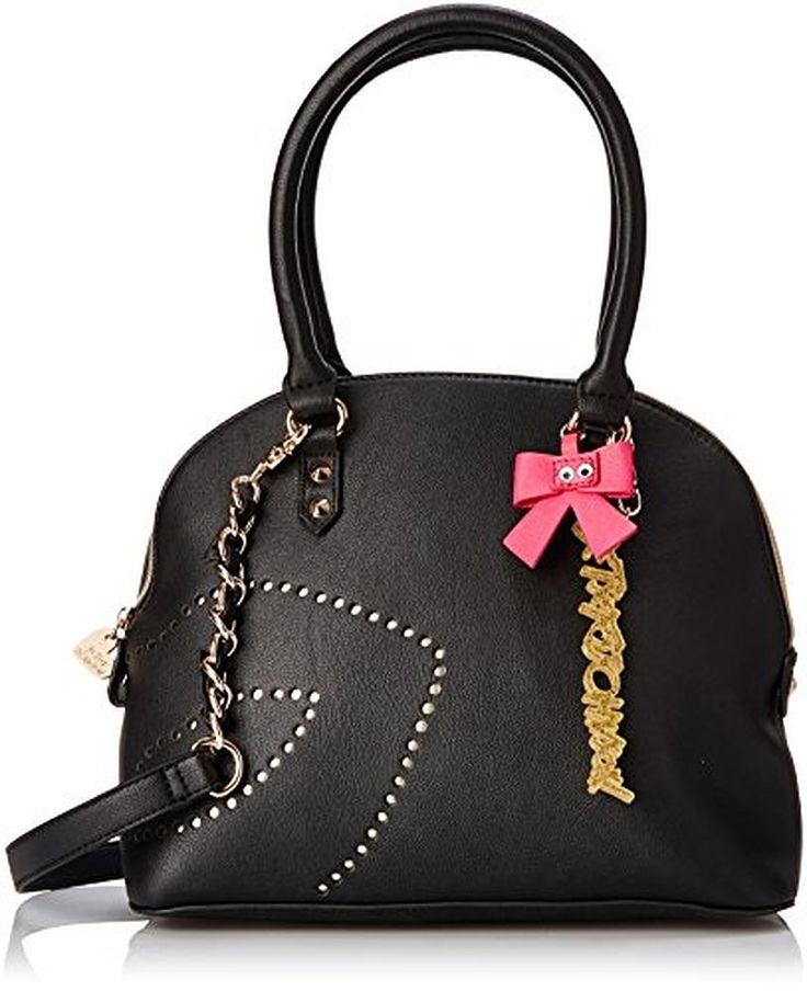 Womens Bag In Bag Satchel Black Multi One Size Betsey Johnson dGc3mXj