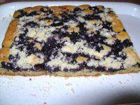 Borůvkový koláč..jednoduchý,výborný
