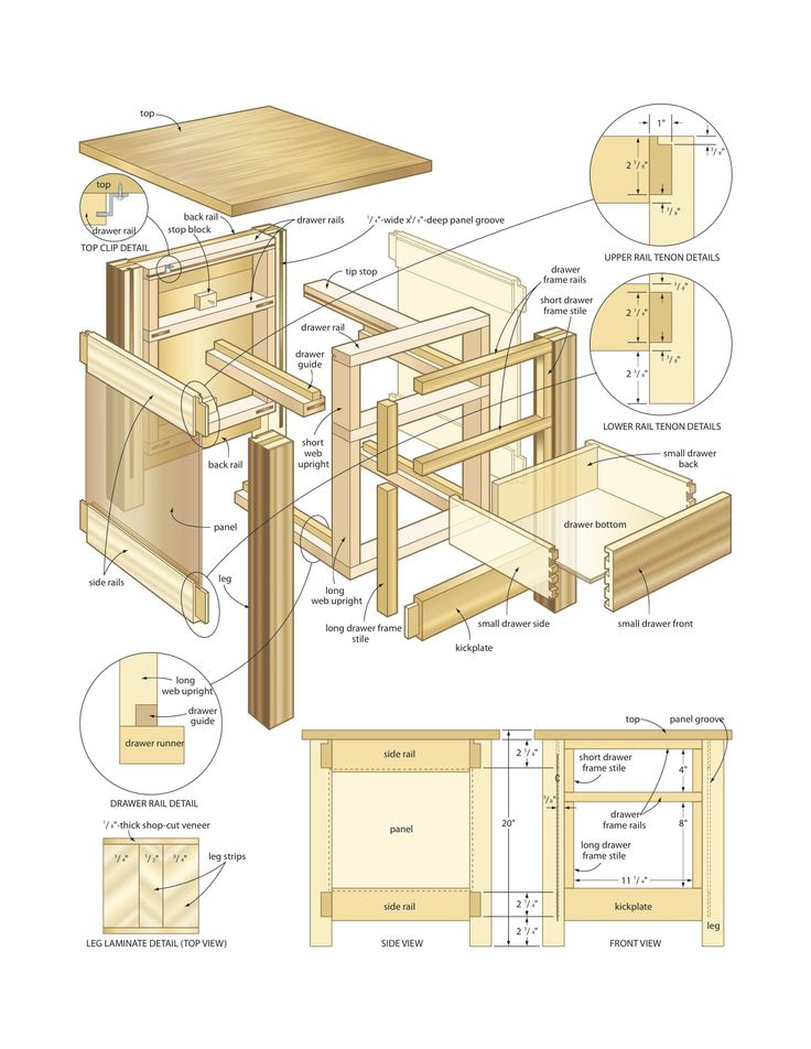 Mission End Table Woodworking Plans Woodworking Projects Plans