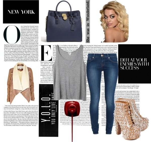 """""""Stylish Casual Jeans"""" by michaela0908-1 on Polyvore"""
