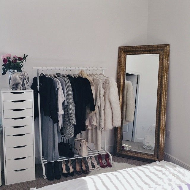 17 best ideas about clothing racks on pinterest clothes. Black Bedroom Furniture Sets. Home Design Ideas