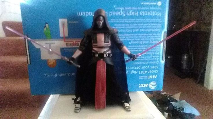 Star Wars black 6 inch Darth Revan action figure http://ift.tt/2y0bxcd