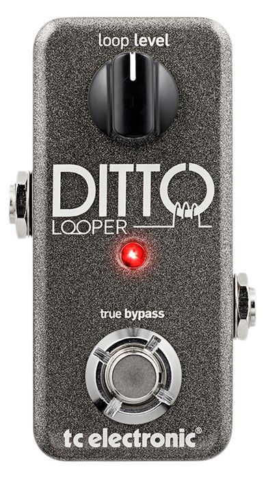 TC Electronic Ditto Looper Guitar Effects Pedal: $129.99