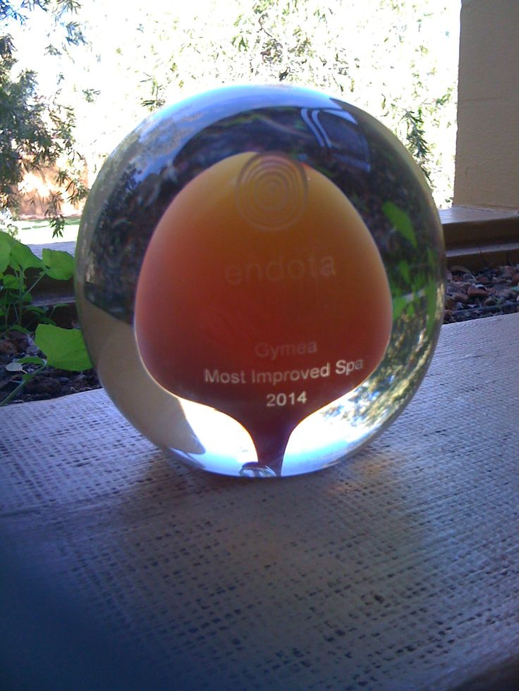 Congratulations to our fantastic team of therapists at endota spa gymea! This beautiful trophy we were lucky enough to bring home with us from conference #endotauluru2014