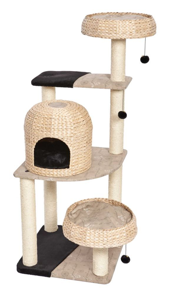 Feline Nuvo Biscayne Wicker Cat Furniture | MidWest Homes For Pets