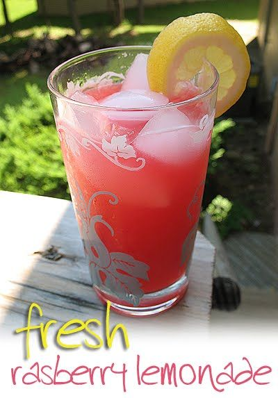 Tested recipe!  VERY good, fresh raspberry lemonade.  Perfect warm spring or summer drink!