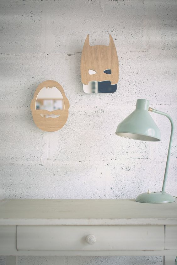 Mommo design mirrors for kids kids furniture and for Kids room mirror