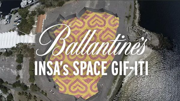 Ballantine's Presents INSA's Space GIF-ITI