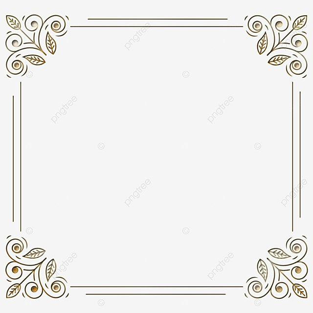 Moldura De Borda De Ornamento Floral Decoracao Bandeira Imagem Png E Psd Para Download Gratuito Ornament Frame Chinese Valentines White Square Frame