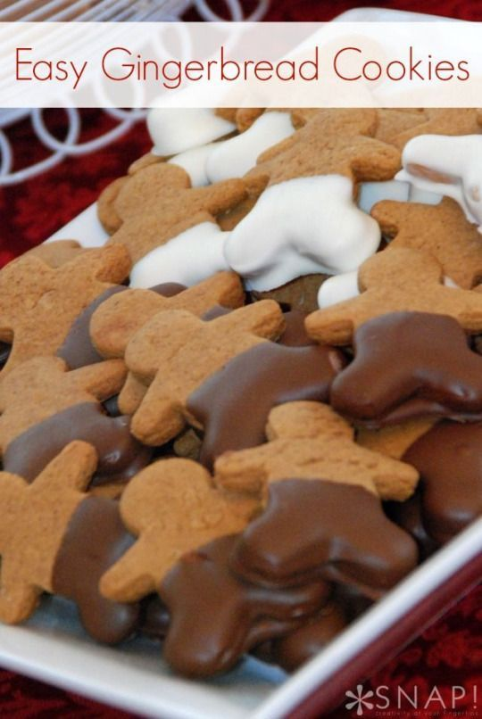 how to make gingerbread man cookies easy