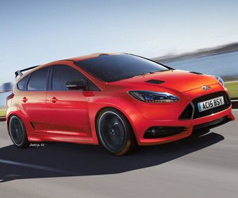 A look ahead at the hotly-anticipated 2016 Ford Focus RS.