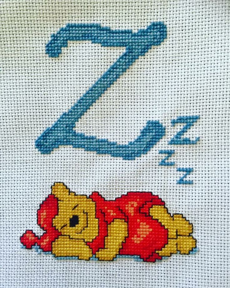 Winnie the Pooh Letter Z