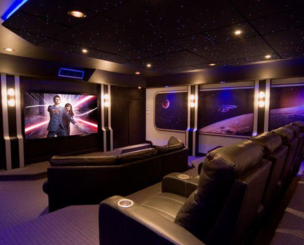 timonium maryland home theater dark