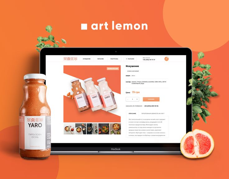 "Check out this @Behance project: ""YARO - healthy food online store"" https://www.behance.net/gallery/55377939/YARO-healthy-food-online-store"