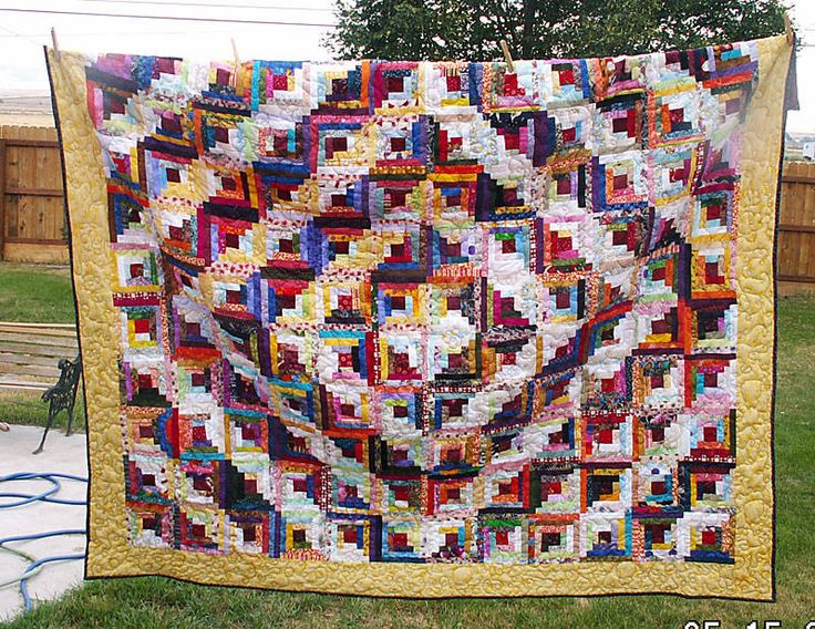 Pin By Favequilts On Log Cabin Quilt Patterns Pinterest