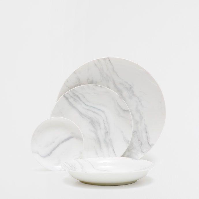 VAISSELLE MARBRE PORCELAINE - Vaisselle - Table | Zara Home France