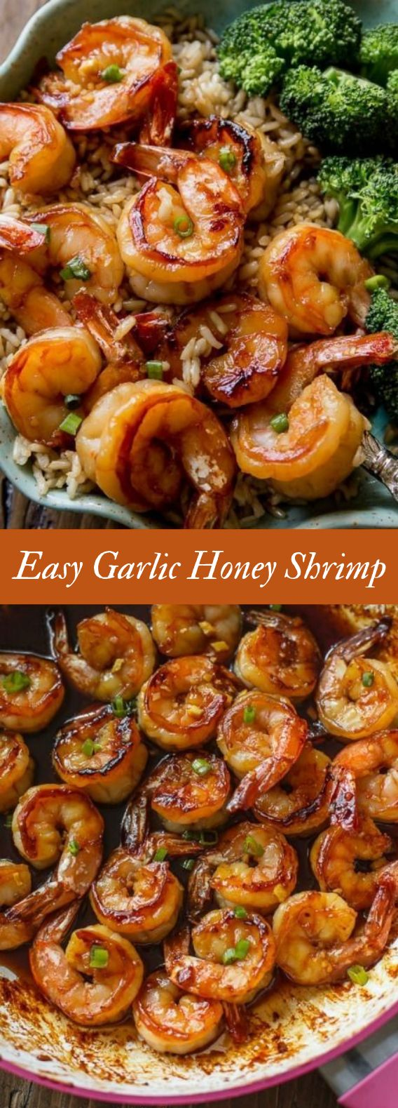 Fast & Wholesome Dinner: 20 Minute Honey Garlic Shrimp #Recipe #Simple Simple, well being…
