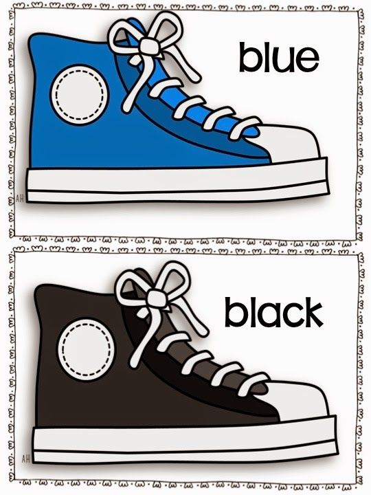 I have finally finished some great colored shoe theme, math, language and art activities. I think everyone is going to like them! I got g...