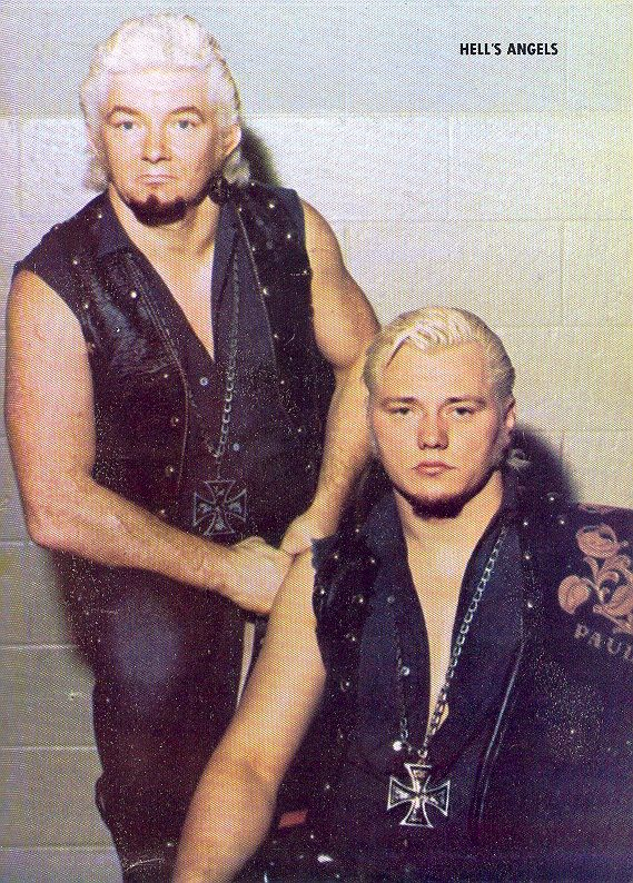 Hell's Angels Ron Dupre & Chris Colt. The other biker tag ...