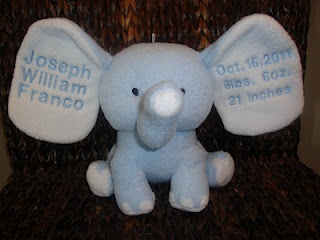 33 best elephant baby items images on pinterest baby items baby check out these adorable embroidered elephant stuffed animals these make the cutest baby gifts negle Image collections