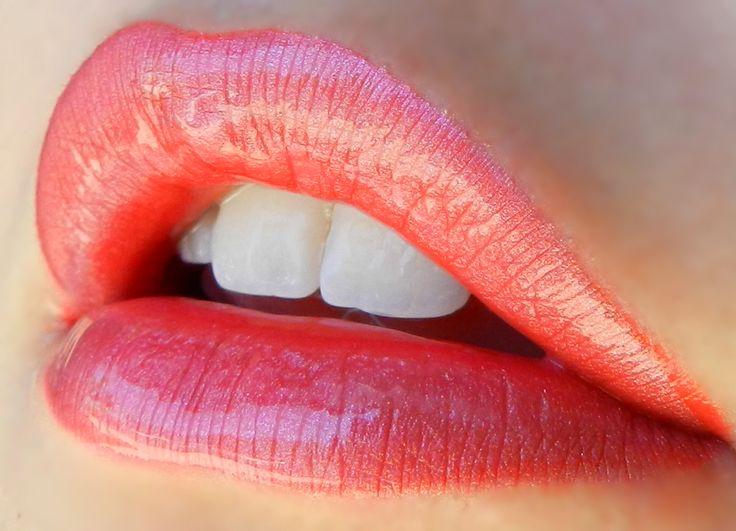 1 Layer Samon #LipSense, 1 Layer Mauve Ice LipSense, 1 Layer Rose Ice LipSense, Topped with Glossy LipSense Gloss