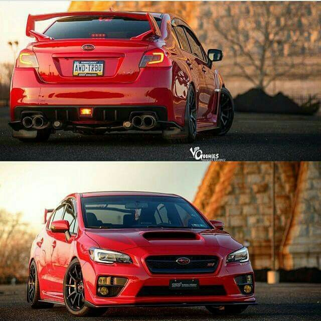 Red Subaru STI                                                                                                                                                                                 More