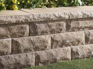 how to build a block retaining wall on a hill