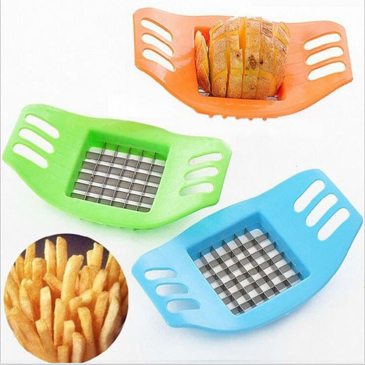 Stainless Steel Vegetable Potato Cutter Slicer Perfect For Fries
