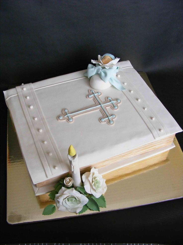 156 Best Images About Baby Amp Baptism Cake Ideas On