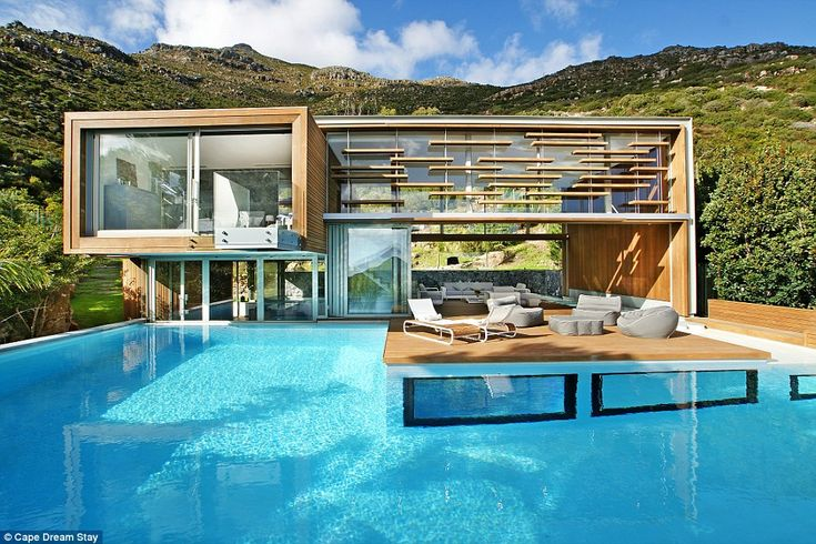 The Spa House is a luxurious private villa in Cape Town, South Africa, which doubles as a fully-functioning private spa