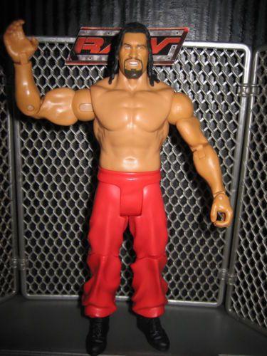 "From the ""Coolest Wrestling Store on Ebay"":  WWE Great Khali Wrestling Figure Mattel Basic Lot of1 ECW WWF Toy Legends TNA | eBay"