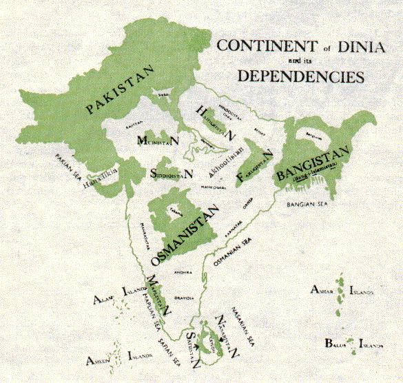 The First Proposed Map of Pakistan & The Partition of India - brilliantmaps.com/first-pakistan/