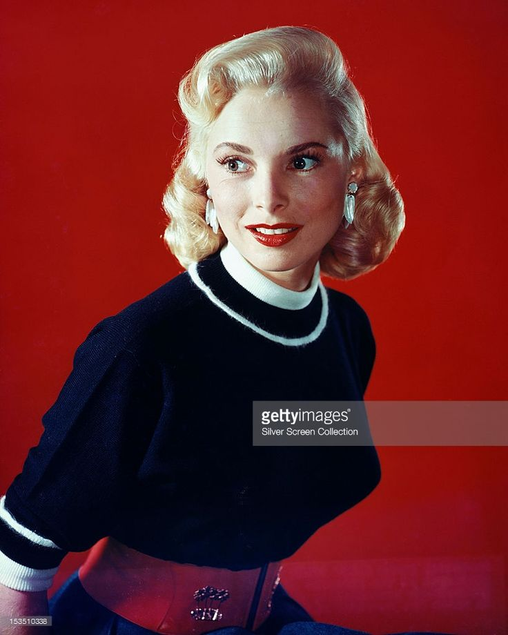 American actress Janet Leigh