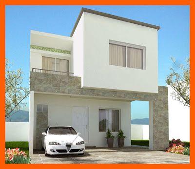 Autos esta fachada es ideal para terrenos de 7 a 9 metros for Fachadas de casas modernas de 6 metros