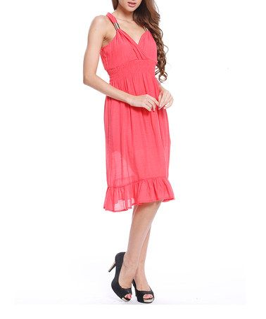 Take a look at this Stella Morgan: Coral Sun Dress by Stella on #zulily today!http://www.zulily.co.uk/invite/akennington3