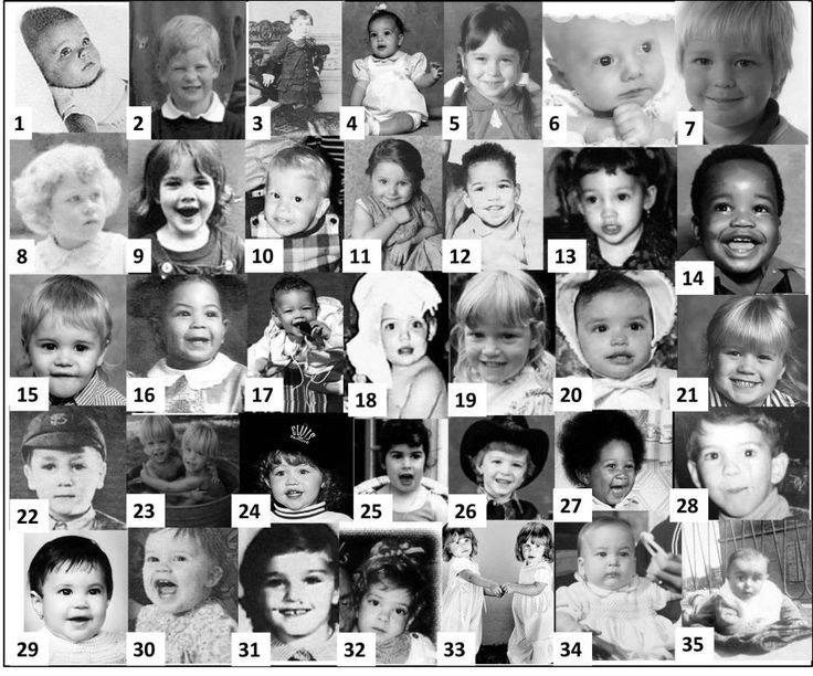 Can You Guess the Celebrity from the Baby Photo? - Trivia ...