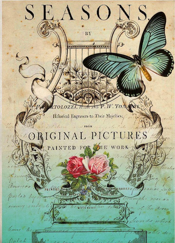 Antique Passion-Láminas Antiguas,Vintage,Retro...y manualidades varias: Muy Vintage...