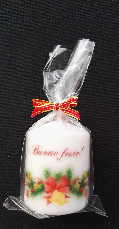 Candele personalizzate, ideale come regalo per Natale