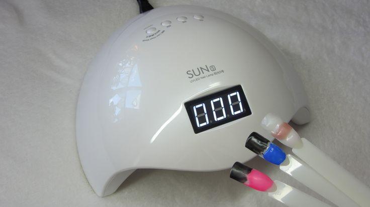 SUN 5 UV LED LAMP - Utwardzanie - Test - Curring All Gels