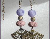 """Nouveauté jolies boucles d'oreilles """"Phang """" Style asiatique : Boucles d'oreille par leslie-sang-tao"""