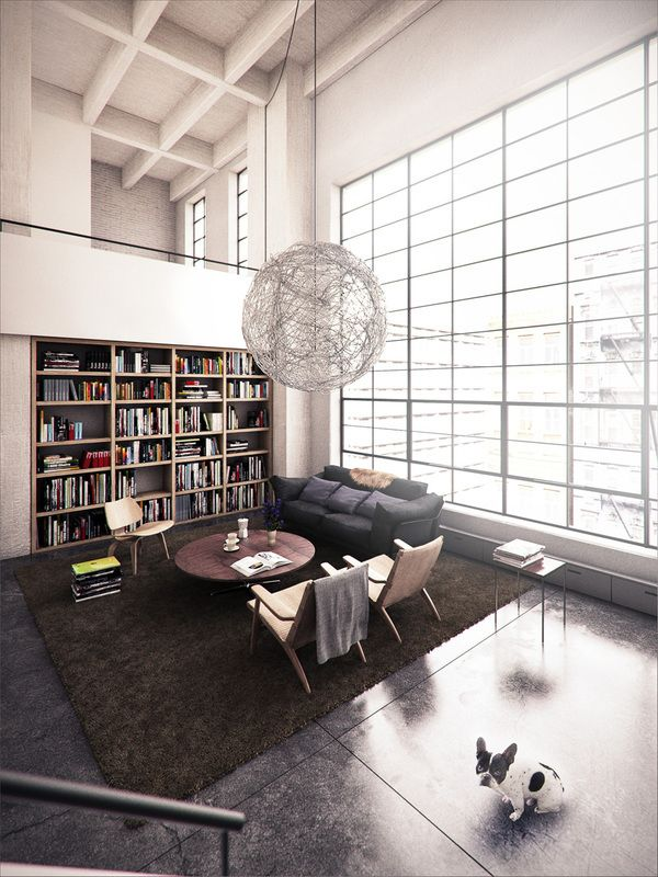 Renwick Street by Lasse Rode. #Infography #Infography3D #Loft