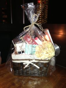 bridal gift basket perfect for an engagement gift for the bride to be by refinery247