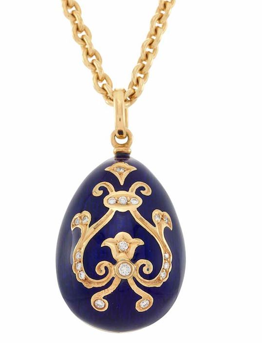 819 best faberge charming eggs images on pinterest faberge gold blue enamel and diamond egg pendant necklace faberge for sale at auction on fri fine jewelry aloadofball Images