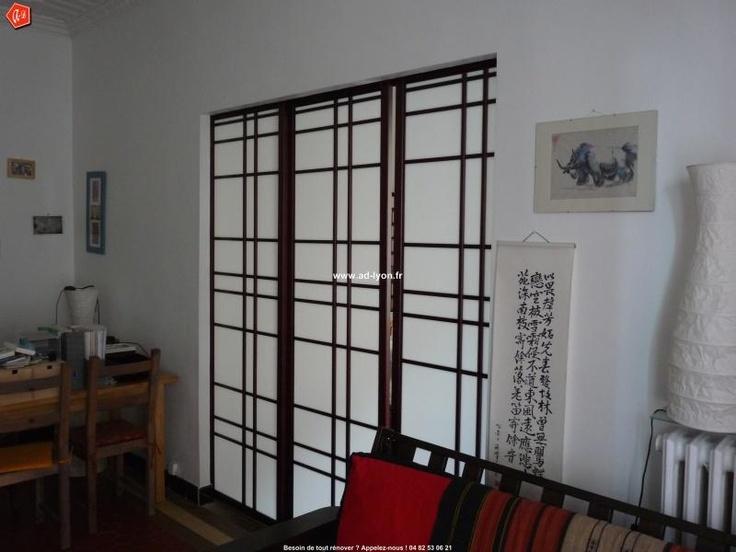 cloison japonaise osaka pour sparer un sjour duun salon. Black Bedroom Furniture Sets. Home Design Ideas