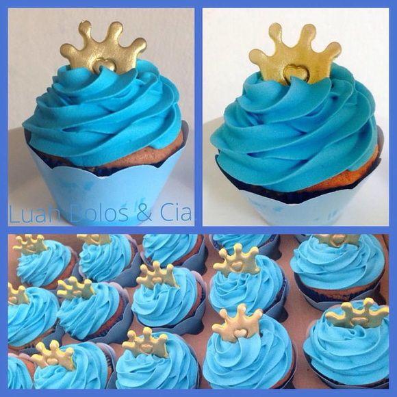 Cupcake Cremoso - Pequeno Príncipe