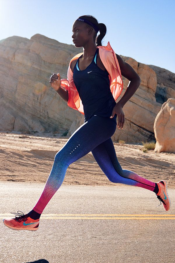 Ultra-light breathability with extra support. Gear up for your road run in looks from our Summer Style Guide.
