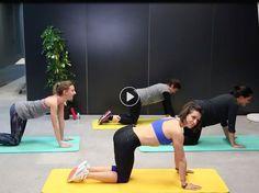 Fitness : 30 minutes de cours de cuisses-abdos-fessiers avec Julie Ferrez