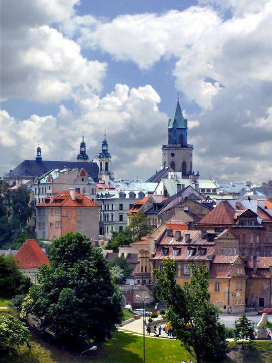 Lublin, Poland | ⍇ 1,8´pl lublin https://de.pinterest.com/danutamer/poland/