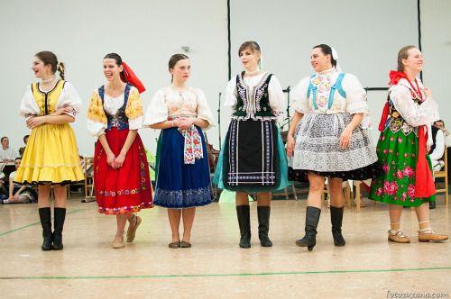 From left: Zemplín, Podpoľanie, Liptov, Šariš, Záhorie and Orava.